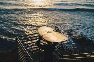 Image article légèreté des surfs en bois